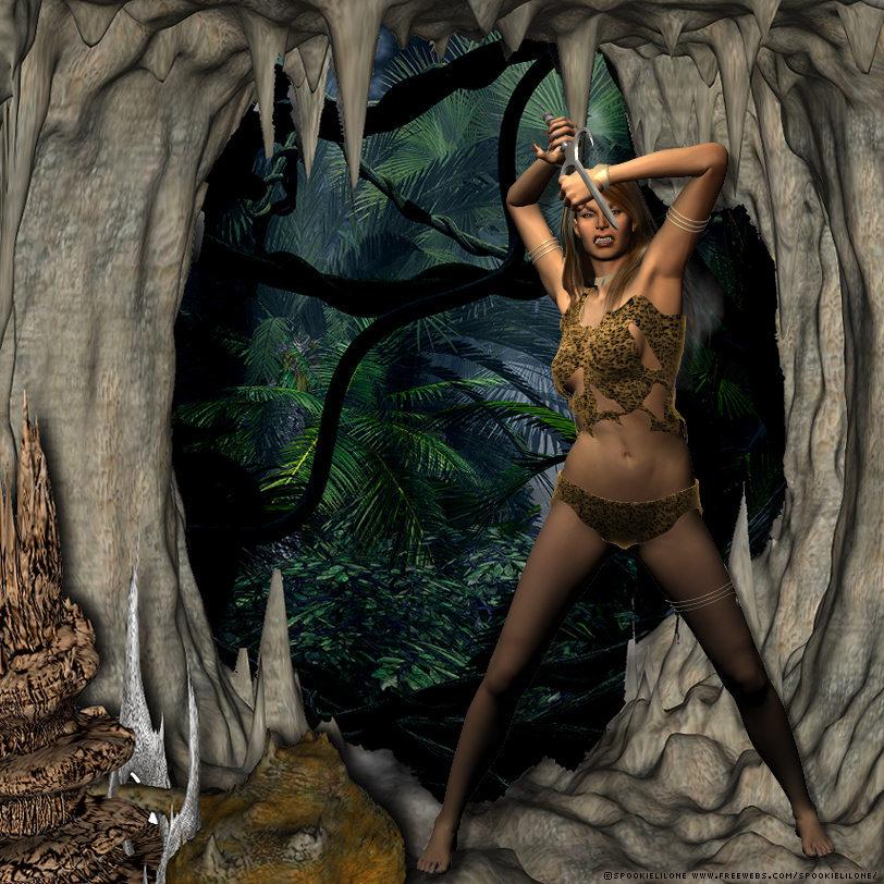 Jana of the Jungle by spookielilone
