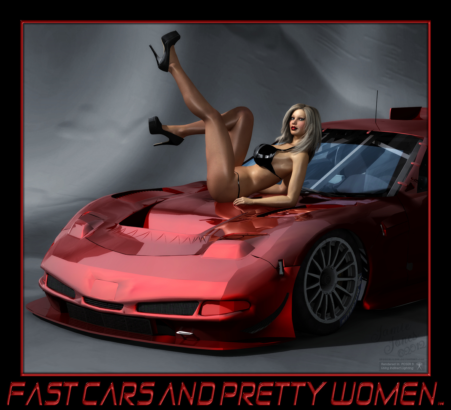 Fast Cars Videos: Fast Cars And Pretty Women Plz FULLVIEW By Spookielilone