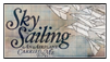 Sky Sailing Stamp by Voltaireon