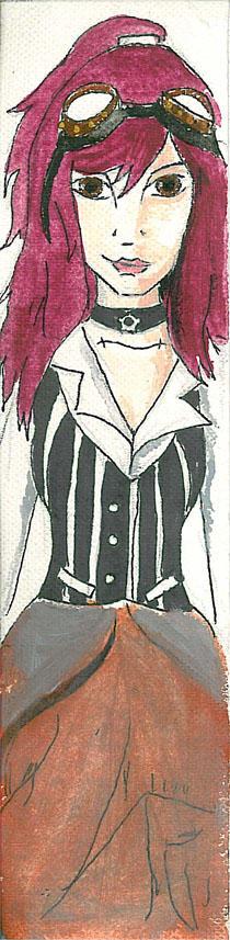 Violet Bookmark