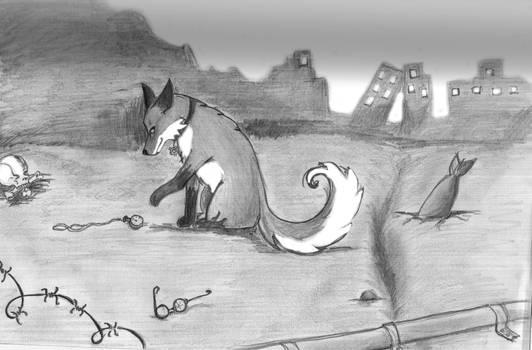 post apocalyptic fox