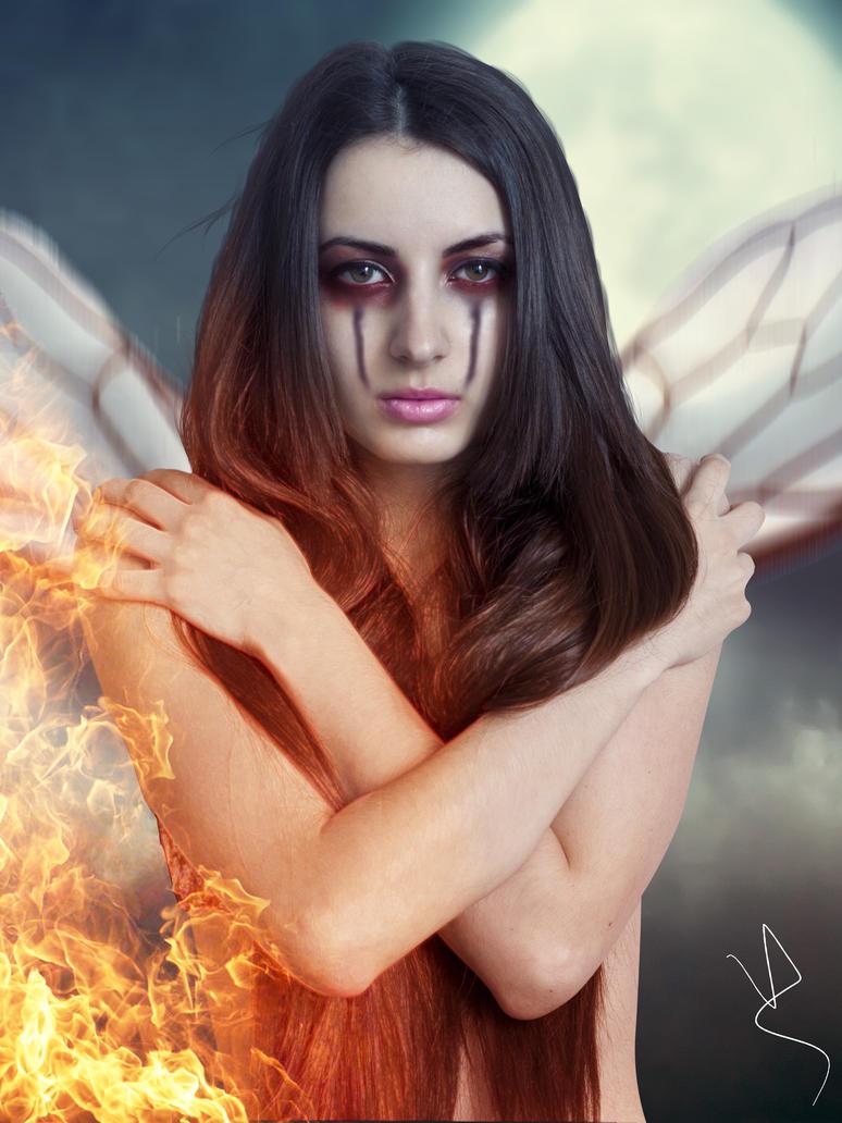 Fire Fairy by viniciusalv