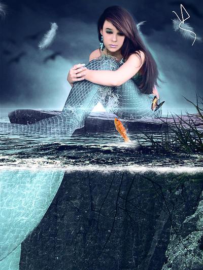 Lost Mermaid by viniciusalv