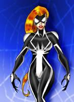 Spider-Woman's new suit by mrfuzzynutz