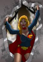 Girl of Steel by mrfuzzynutz