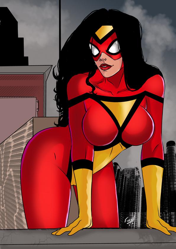 Beware The Spider Woman by mrfuzzynutz