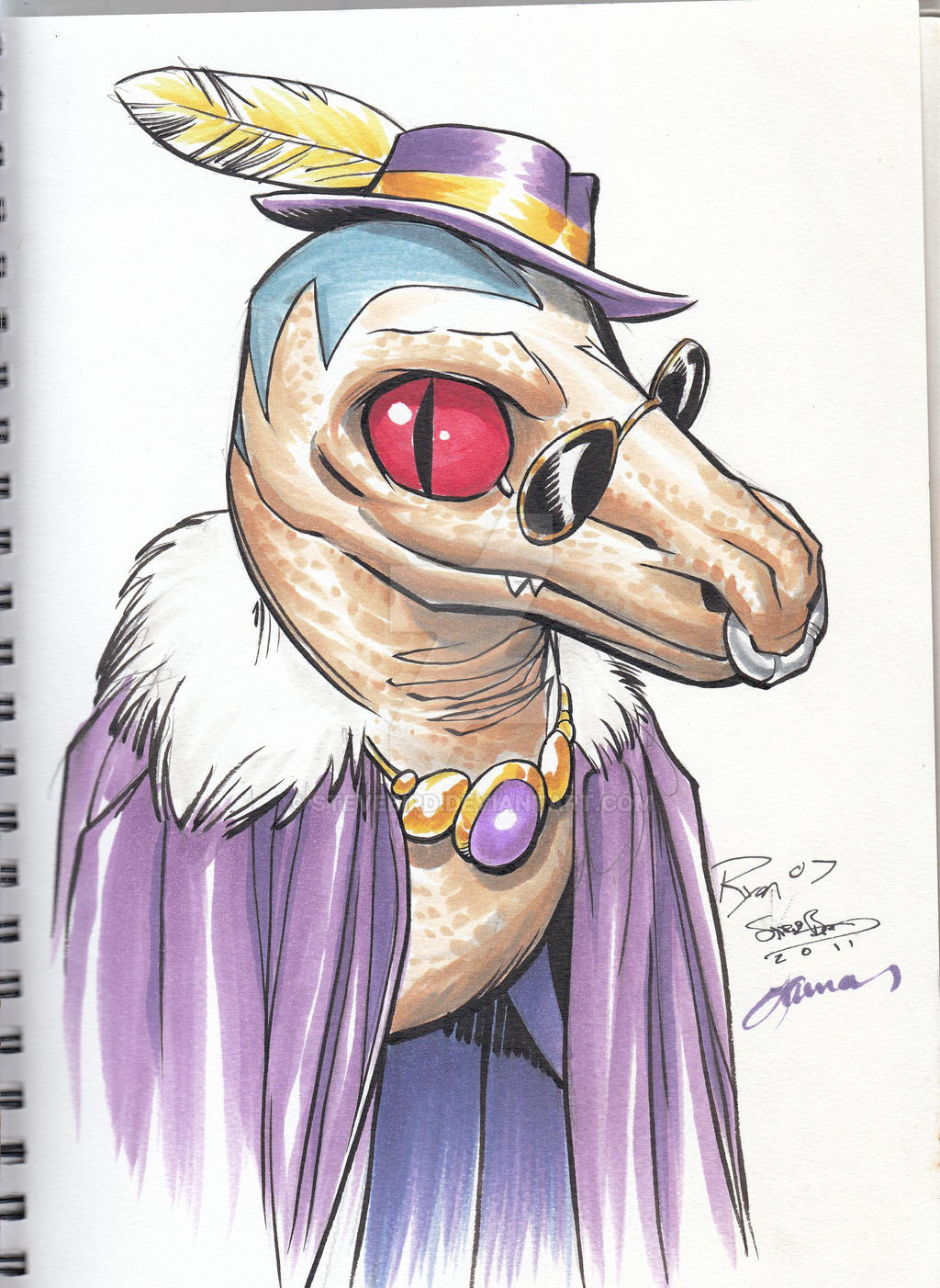 Old Lace con sketch by SteveBird