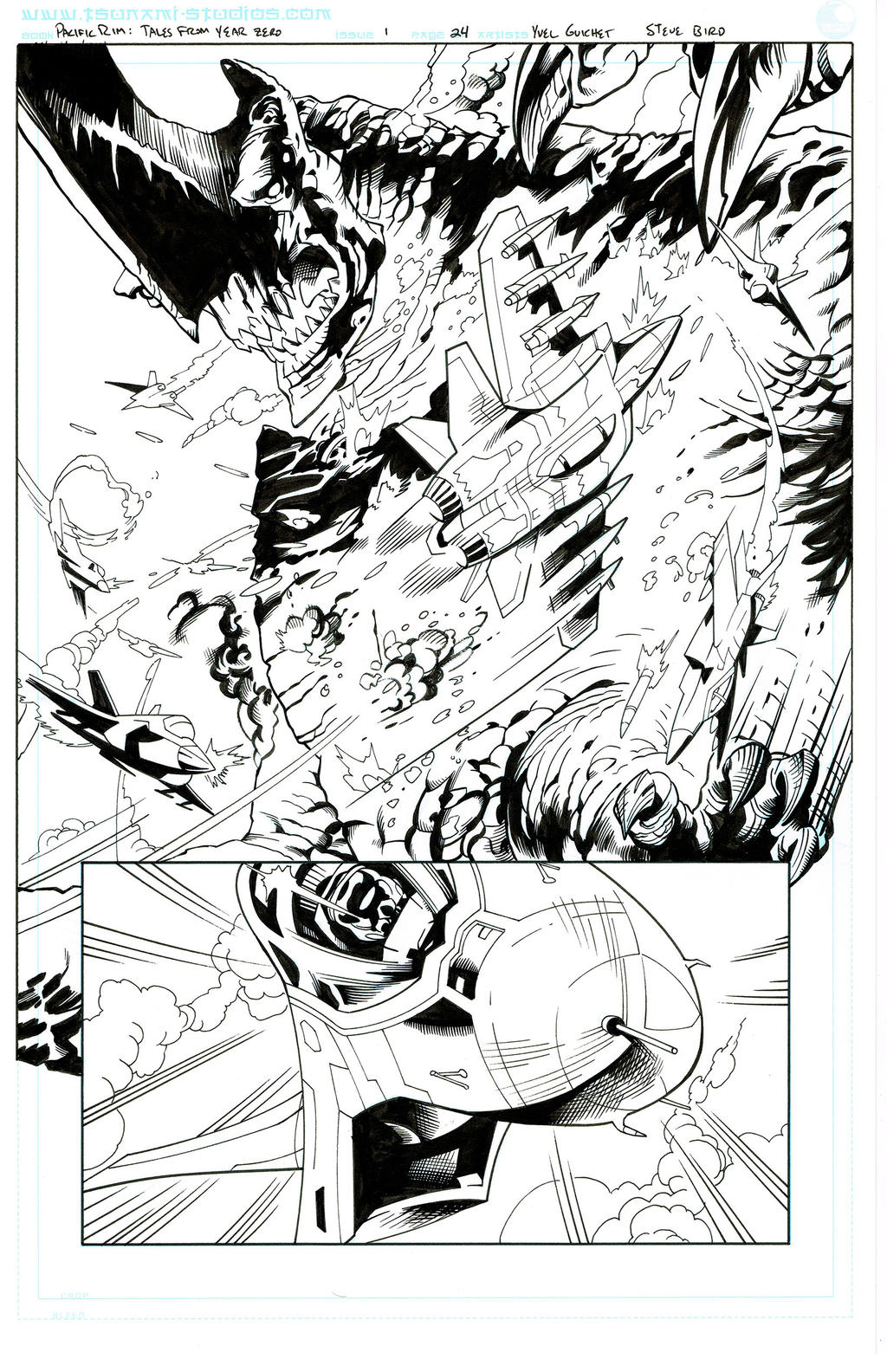 Pacific Rim: Tales From Year Zero,  page 24