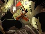 Kid Goku in The Promised Neverland