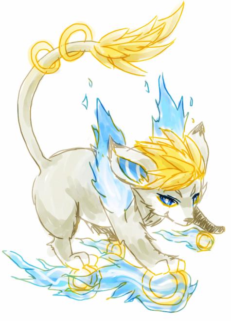 golden fire by onisuu