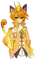 gijinka -- meowth