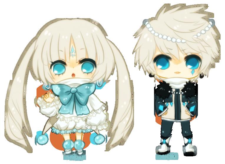 Renders Kawai Chibi 04 Ocs____ice_royals_by_onisuu-d4ychud