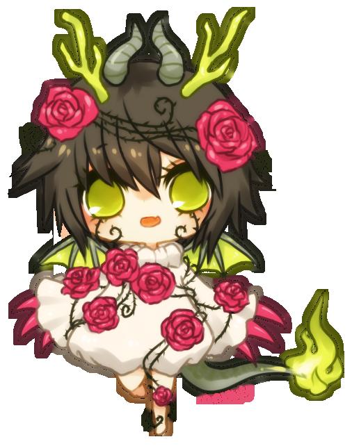 Renders Kawai Chibi 04 Gaia____green_dragon_by_onisuu-d5088iu