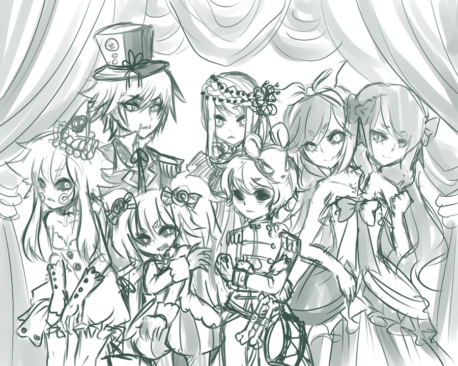 WIP -- circus photo by onisuu