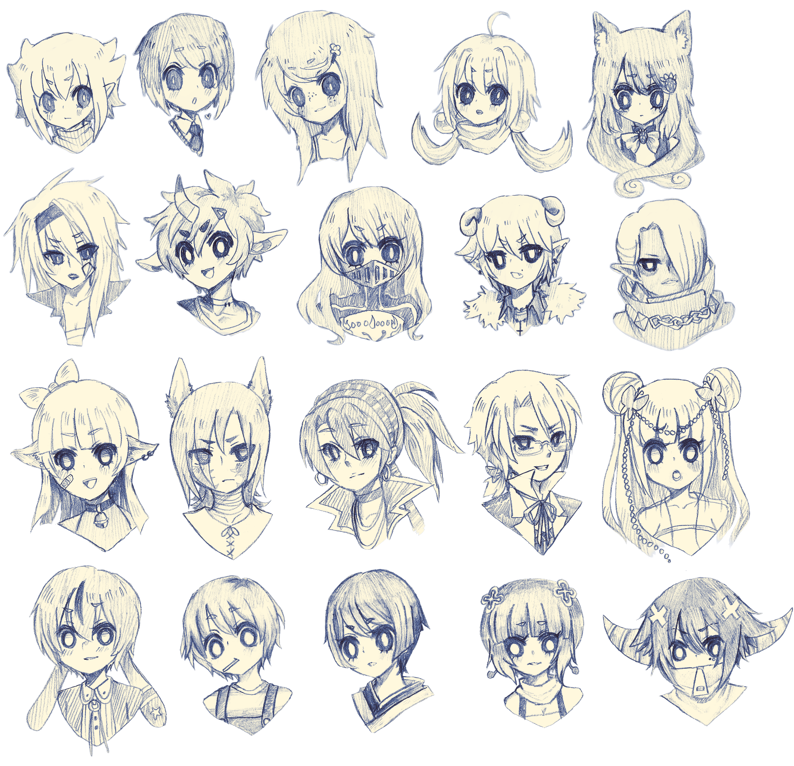 100 headshots (20 percent) by onisuu