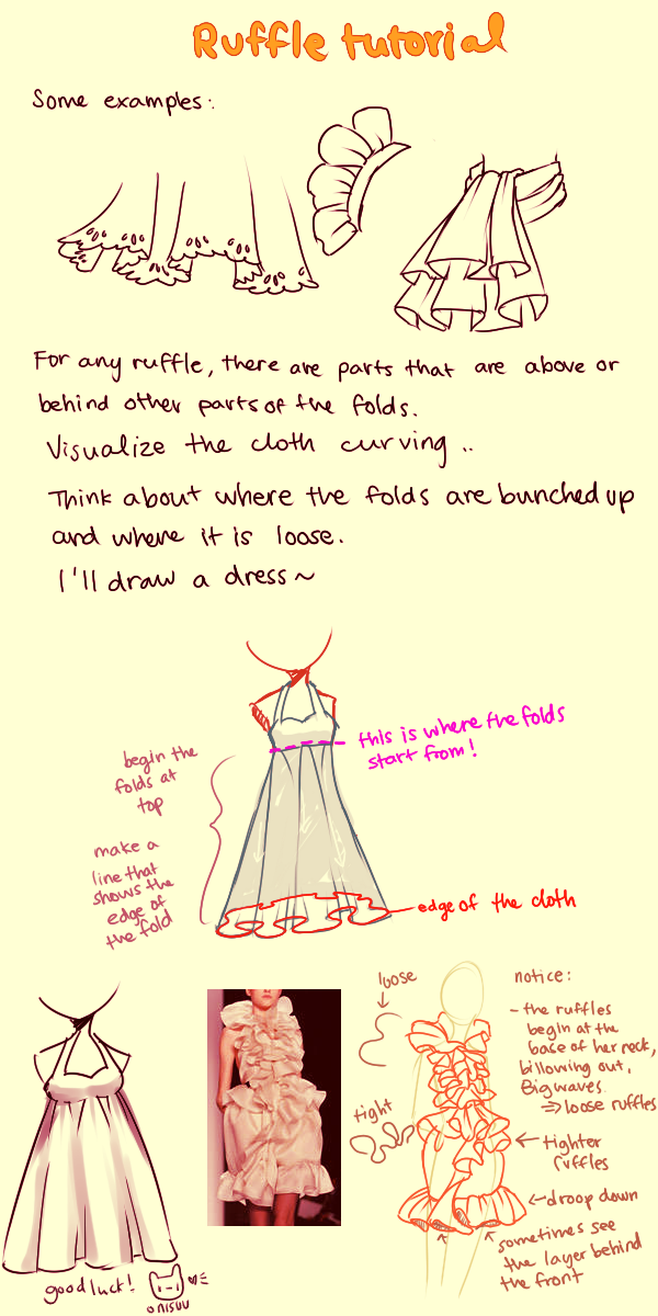Ruffle Tutorial by onisuu