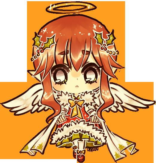 christmas angel by onisuu