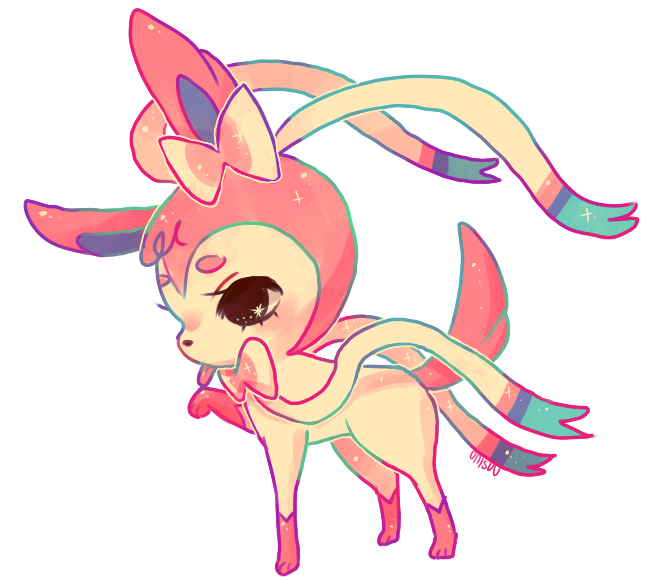 pokemon -- Sylveon by onisuu