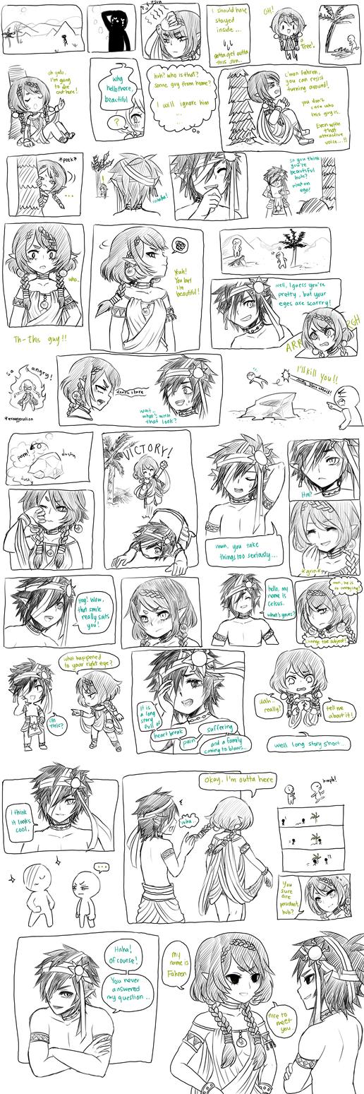 ocs -- friendly greeting by onisuu
