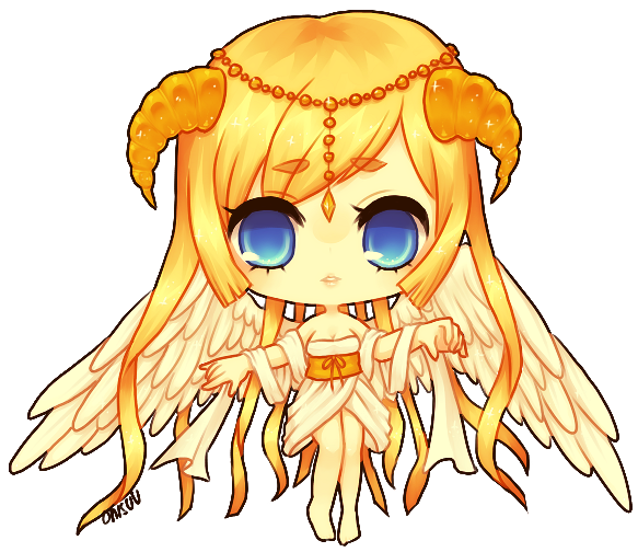 art trade -- Angel by onisuu