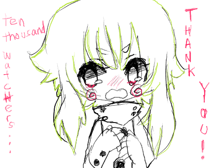 Thank you, 10k!! by onisuu
