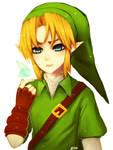 zelda -- Link and Navi