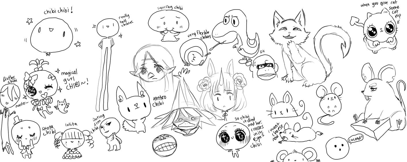 Doodlessshahahhahahahahha by onisuu