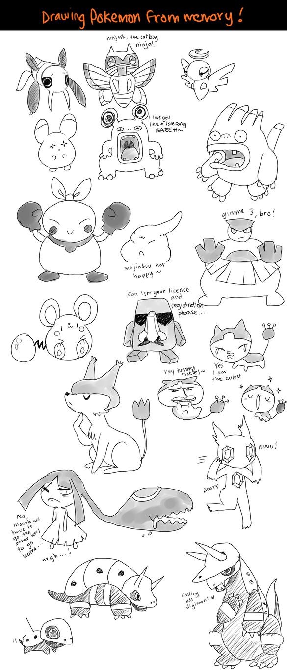 all de pokemon -- part 11 by onisuu