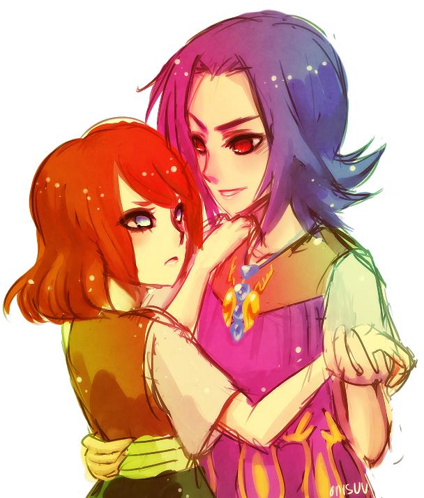 Zelda Majora's Mask -- Anju and Kafei by onisuu