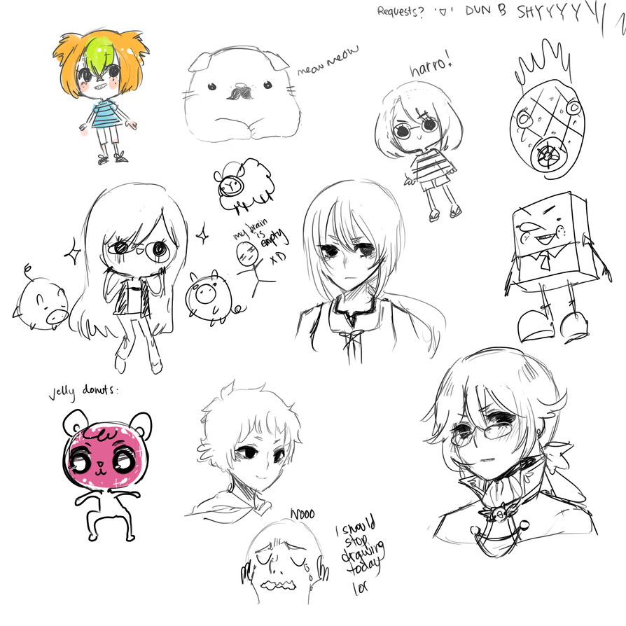 Doodlessafka by onisuu