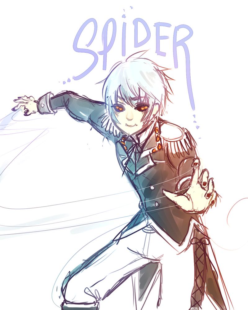 OCs -- Spider by onisuu