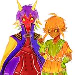 Majora and Skull Kid