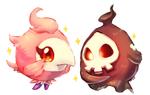 pokemon -- spritzee and duskull