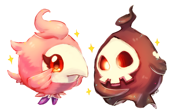 Pokemon Spritzee And Duskull By Onisuu On Deviantart The eighth generation of pokemon have arrived, with many trainers having already discovered the vast majority of species that the new. pokemon spritzee and duskull by