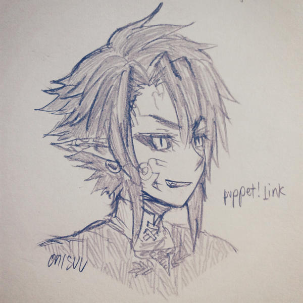 zelda -- puppet!Link by onisuu