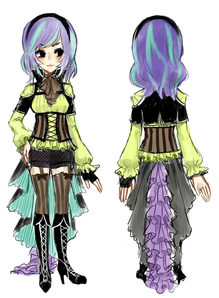 final design -- aurora by onisuu