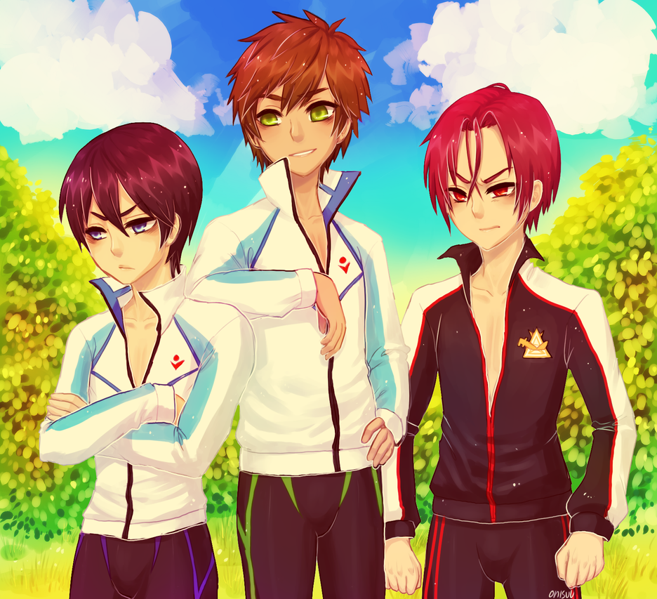 commission -- Free! by onisuu