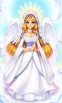 art trade -- Goddess Hylia