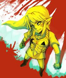 Majora's Mask -- WIP - what blood? by onisuu