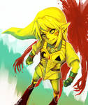 Majora's Mask -- Fierce Deity Link