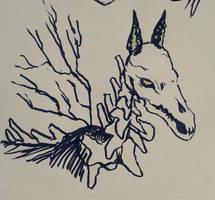 ocs -- night mare by onisuu