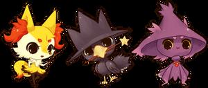 pokemon -- Pokewitches