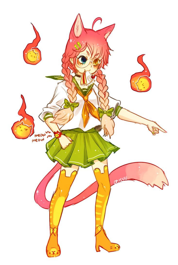 OCs -- Marysue Catgirl by onisuu