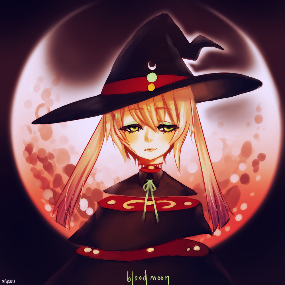 Blood Moon by onisuu