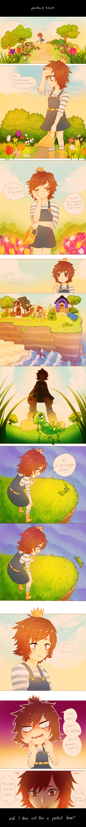 Animal Crossing  -- perfect town by onisuu