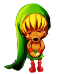 Majora's Mask -- Deku Link