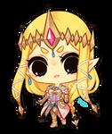 hyrule warriors -- Zelda (+spdpaint)