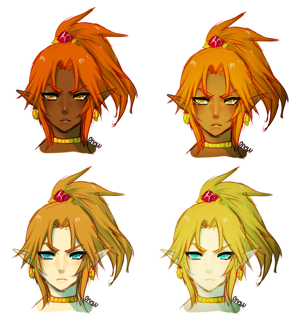 Skin Tone And Colour Effects by onisuu