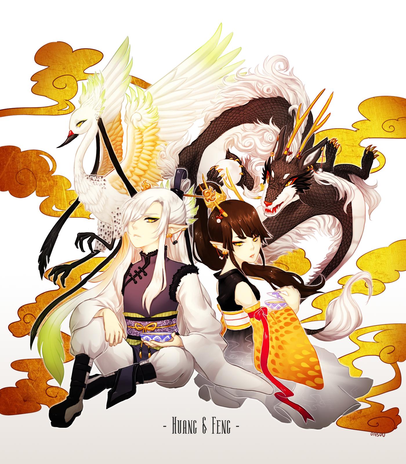 OCs -- Deities by onisuu
