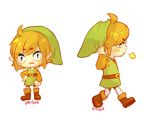 yeahh link time! by onisuu